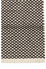 Jacquard-weave cotton rug - White/Anthracite -  | H&M GB 4