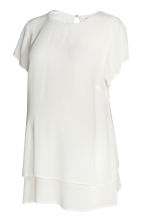 MAMA Crêped blouse - White - Ladies | H&M CN 2
