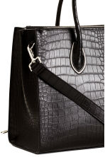 Handbag - Black/Patterned - Ladies | H&M CN 3