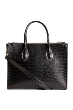 Handbag - Black/Patterned - Ladies | H&M CN 2