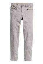 Twill biker trousers - Grey - Kids | H&M CN 2
