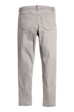 Twill biker trousers - Grey - Kids | H&M CN 3