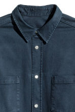 Camicia in cotone con taschini - Blu scuro - UOMO | H&M IT 3