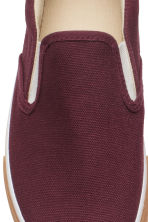 Slip-on trainers - Burgundy - Kids | H&M CN 3