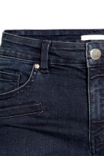 Skinny Ankle Biker Jeans - Dark denim blue - Ladies | H&M CN 5
