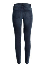 Skinny Ankle Biker Jeans - Dark denim blue - Ladies | H&M CN 3