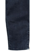 Skinny Ankle Biker Jeans - Dark denim blue - Ladies | H&M CN 4