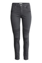 Skinny Ankle Biker Jeans - Dark grey - Ladies | H&M GB 2