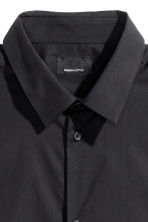 Premium cotton shirt - Black - Men | H&M 3