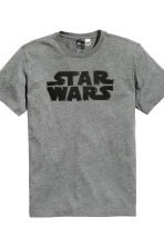 Pyjamas T-shirt and shorts - Dark grey/Star Wars  - Men | H&M CN 3