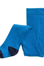 2-pack tights - Cornflower blue - Kids | H&M CN 4