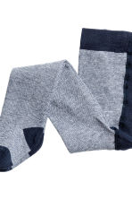 2-pack tights - Dark blue/Striped - Kids | H&M CN 2