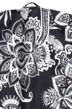 Paisley-patterned tea towel - Anthracite grey - Home All | H&M CN 2