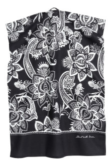 Paisley-patterned tea towel