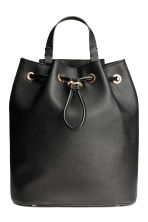 Bucket bag/backpack - Black - Ladies | H&M CN 2