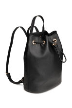 Bucket bag/backpack - Black - Ladies | H&M CN 1