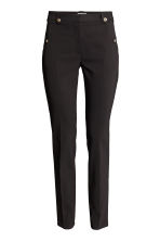 Suit trousers - Black - Ladies | H&M CN 2