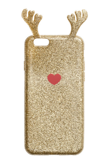 iPhone case - Gold/Reindeer - Ladies | H&M IE 1