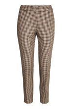 Suit trousers - Mole/Checked - Ladies | H&M CN 2