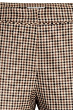Suit trousers - Mole/Checked - Ladies | H&M CN 4