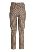 Suit trousers - Mole/Checked - Ladies | H&M CN 3