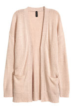 Knitted cardigan - Powder beige - Ladies | H&M CN 2