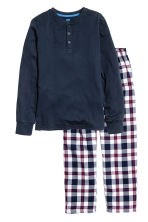 Pyjamas - Dark blue - Kids | H&M CN 1