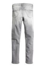 Skinny Fit Biker Jeans - Grey washed out - Kids | H&M CN 3