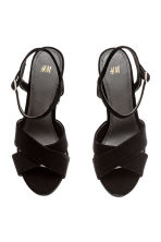 Sandali con plateau - Nero -  | H&M IT 3