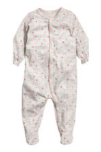 3-pack all-in-one pyjamas - Natural white/Rabbit - Kids | H&M CN 2