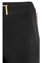 Woven trousers - Black - Ladies | H&M CN 3