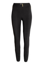 Woven trousers - Black - Ladies | H&M CN 2