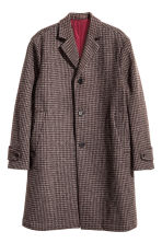 Cappotto in misto lana - Bordeaux -  | H&M IT 2