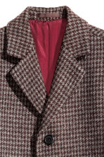Cappotto in misto lana - Bordeaux -  | H&M IT 4