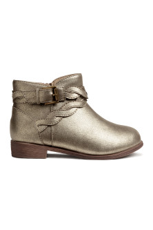 Bottines scintillantes