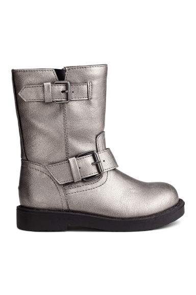 Biker boots - Brushed gold - Kids | H&M CN