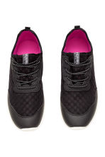 Sneakers in mesh - Nero - BAMBINO | H&M IT 3