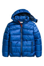 Padded winter jacket - Cornflower blue - Kids | H&M CN 2