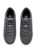 Sneakers in feltro - Grigio scuro - DONNA | H&M IT 3