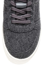 Sneakers in feltro - Grigio scuro - DONNA | H&M IT 4