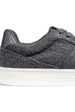 Sneakers in feltro - Grigio scuro - DONNA | H&M IT 5