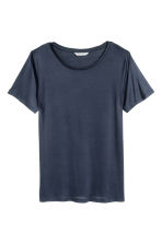 Jersey top - Dark blue - Ladies | H&M CN 2
