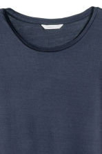 Jersey top - Dark blue - Ladies | H&M CN 3