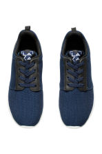 Mesh trainers - Dark blue - Kids | H&M CN 2
