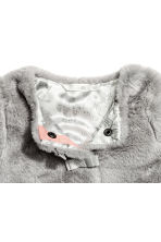 Faux fur jacket - Grey - Kids | H&M CA 2