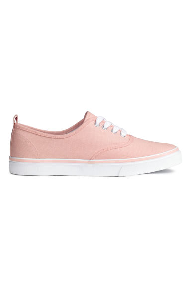 Canvas trainers - Powder pink - Ladies | H&M CN 1