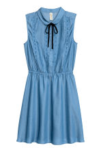 Sleeveless dress - Blue - Ladies | H&M CN 2