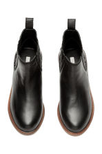 Leather jodhpur boots - Black - Kids | H&M CN 2