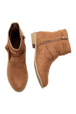 Ankle boots - Light brown -  | H&M CN 2
