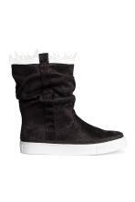 Warm-lined boots - Black - Kids | H&M CN 1